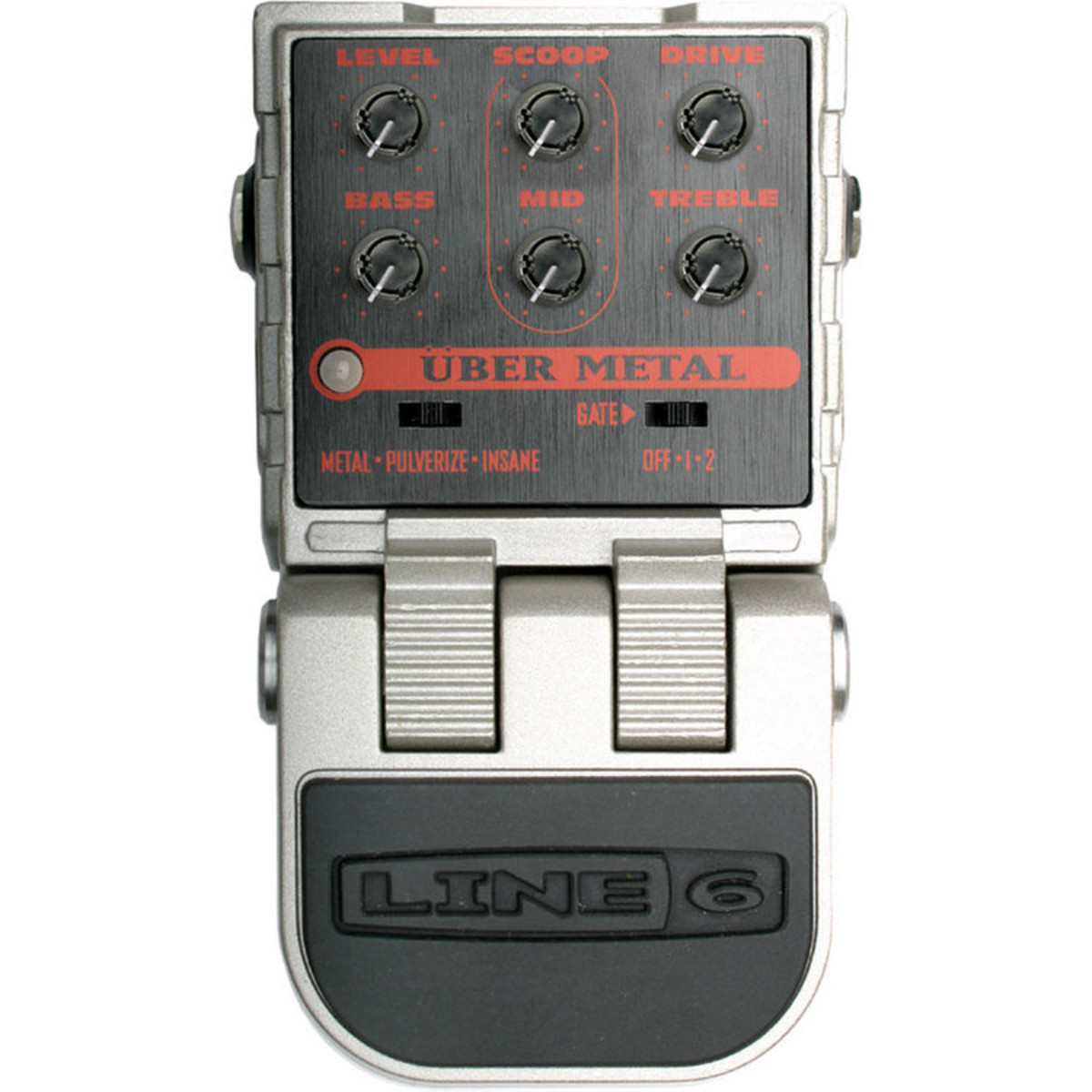 Line 6 Pedal Guitarra Uber Metal – Melodia Music Center